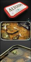 Gift - Large Altoids Tin Koi Pond by Bon-AppetEats