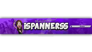 iSpannerss - YouTube 'One' Background! by DefiantArtz