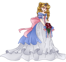 Wedding Dress Colored by fifi-fu
