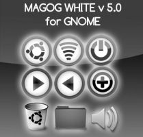 ICON for GNOME: MAGOG WHITE by Magog64
