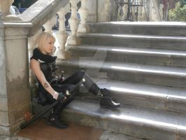 Shadowhunters Cosplay - On the stairs by Yoshitsune06-15