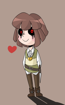 just a non-specific chara by beanbagbrianna