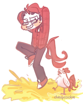 Markiplier - the little rooster by Cheapcookie