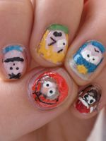 south park nails 2 by Ninails