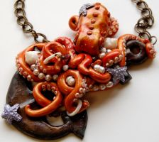Octopi on an Anchor by TinfoilHalo
