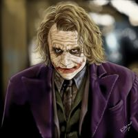 The Joker by MzJekyl