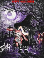:Goth Halloween for Jul: ID by Julye-chan