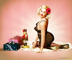 Christmas 2011 Pinup by seanearley