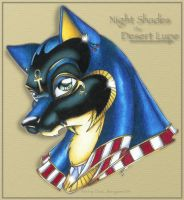 Night Shades: The Desert Noble by Blue-Sonikku