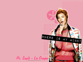Mr. Simple Donghae - Wallpaper by AllRiseHyuk