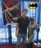 Kevin Conroy with Catwoman by RockerDragonfly