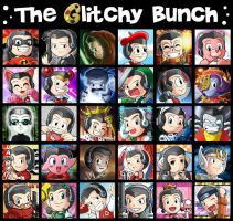 The Glitchy Bunch by glitcher