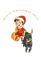 DC: 'S' is for Santa by MieKuning