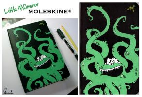 Moleskine Monster by kleinmeli