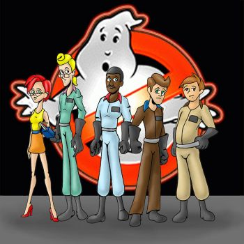 Ghosbusters animated . by Jason-K
