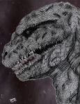 G-Resurgence: Shin Gojira [Head Design] by AVGK04
