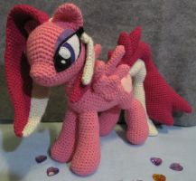 Loving Heart by NerdyKnitterDesigns