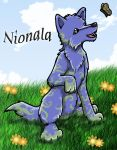Nionala and the Butterfly by Tealya