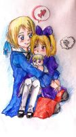 Ukraine and Belarus.Sisters love by Vera-chan15