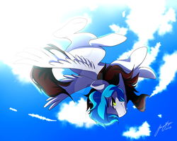 Free Fall by Picklesquidly