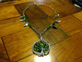 Wire Wrapping-Tree by DanikaMilles