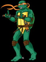 TMNT: Michelangelo by Shellsweet