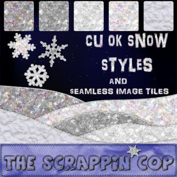 Snow Photoshop Styles by debh945