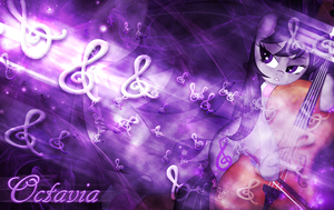 Octavia Wallpaper by MLArtSpecter