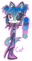 Hand-Drawn: Ghost The Cat Colour Reference by MissAquaAnime