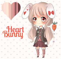 Heart Bunny : Auction [CLOSED] by Vanirue