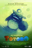 my neighbour Totoro (fanmade) poster by CyberBladeVN