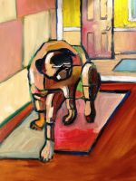 Blind Pug II by center555