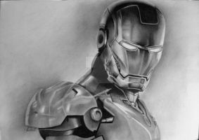 Iron Man by NEVSIMAL