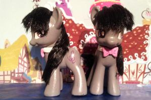 Octavia Twins - Custom made by CelestPapermoon