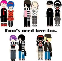 Emo couples by twistedlove