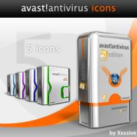 avast Antivirus Icons by XSV