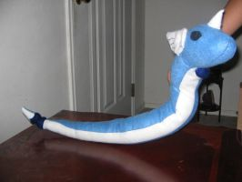 Dragonair Plushie by Flemmliplush