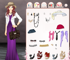 Elegant Stylist Dress up Game by willbeyou