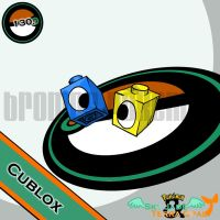 130. Cublox by bromos-pokemon