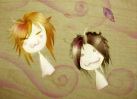 Uruha n Aoi : Follow the Wind by Alzheimer13