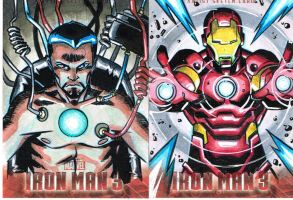 .oO0IronMan3SketchCards0Oo. by BluLynes
