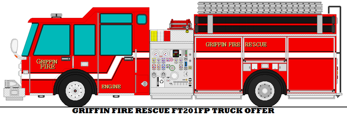Griffin Fire Rescue FT201FP Truck Offer by mcspyder1
