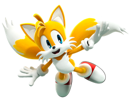 Tails Flying (Recreated Pose) Upgraded by FinnAkira