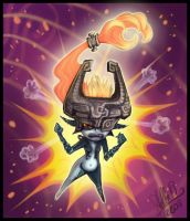 Angry Midna by StellaB