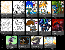 Commission chart -OPEN- by KanjiFaux