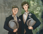 Just married--no, wait. by ilcielocapovolto