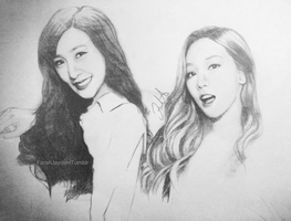 Tiffany and Taeyeon by Farah00A