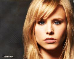 Kristen Bell Wallpaper by jeay