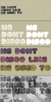 We Don't Disco by j3concepts