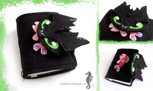 Journal with Toothless by bt-v